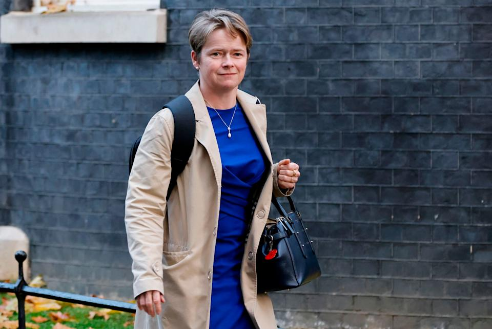 Tory peer Dido Harding, who runs the much-criticised NHS Test and Trace service. (Photo: TOLGA AKMEN via Getty Images)