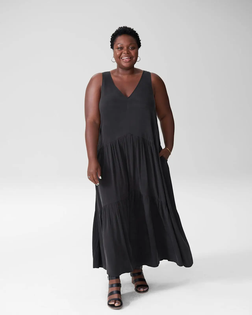 """<br><br><strong>Universal Standard</strong> Emily Cupro Maxi Dress, $, available at <a href=""""https://go.skimresources.com/?id=30283X879131&url=https%3A%2F%2Fwww.universalstandard.com%2Fproducts%2Femily-cupro-maxi-dress-black"""" rel=""""nofollow noopener"""" target=""""_blank"""" data-ylk=""""slk:Universal Standard"""" class=""""link rapid-noclick-resp"""">Universal Standard</a>"""