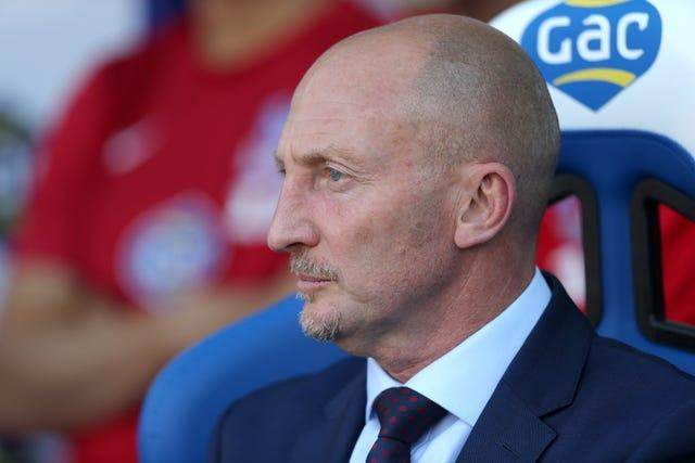 Holloway initially turned down Palace