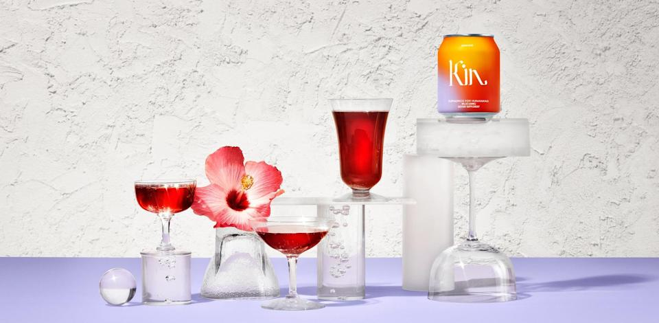 <p>If you're looking to cut back on your alcohol intake but still like to enjoy a fun beverage, you need this <span>Kin Spritz</span> ($47) in your life. It's relaxing and yummy; what could be better?</p>