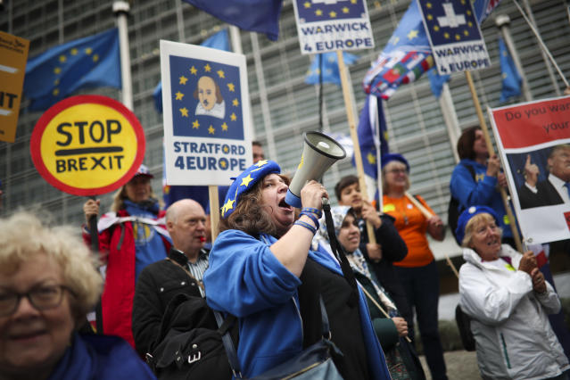 Most Remain supporters still do not accept Brexit, according to a survey (AP)