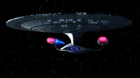 "The USS Enterprise (NCC-1701-D) appeared in the Star Trek: The Next Generation episode, ""All Good Things ... "" The ship appeared in an alternate future in which it had not crashed during the ""Star Trek: Generations"" movie, and had instead began"