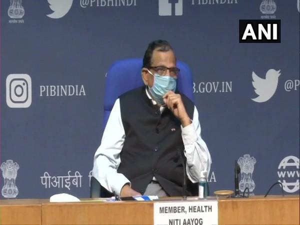 Dr VK Paul, Member (Health), NITI Aayog (Photo/ANI)