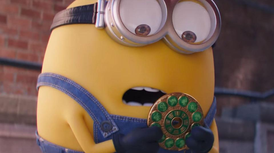 <p>This Minions adventure throws it back the '70s, where a 12-year-old Felonius Gru dreams of becoming a part of the supervillain group known as the Vicious 6. Steve Carell and Taraji P. Henson lend their voices to the film, which is expected to drop July 2, 2021. </p>
