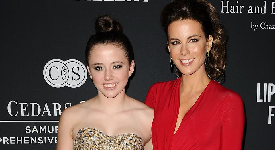 Kate Beckinsale has revealed she was separated from her daughter Lily due to Covid-19. (Getty Images)