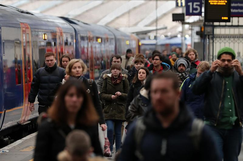 Services from Waterloo and Paddington stations are distrupted: AFP/Getty Images