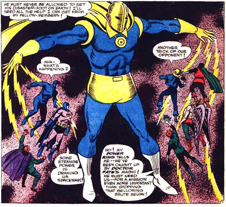 Dr. Fate appears in Justice League of America after decades in the DC vaults.