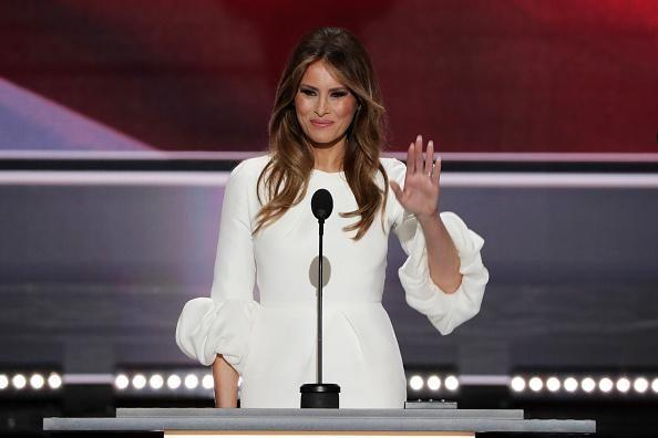 Here's the Subtle Message in Melania Trump's Dress