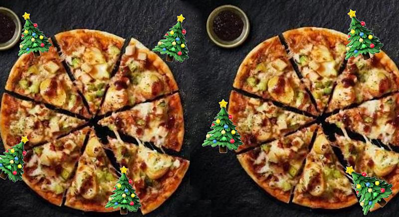 You Can Now Eat Your Christmas Dinner In Pizza Form