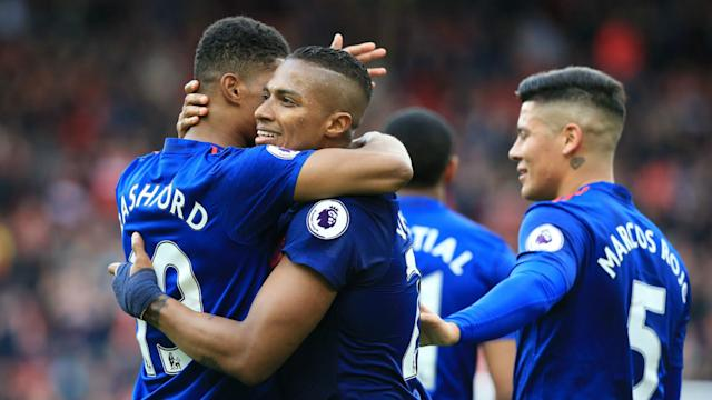 A makeshift Manchester United battled to a 3-1 win at Middlesbrough to keep their hopes of a top-four finish in the Premier League alive.