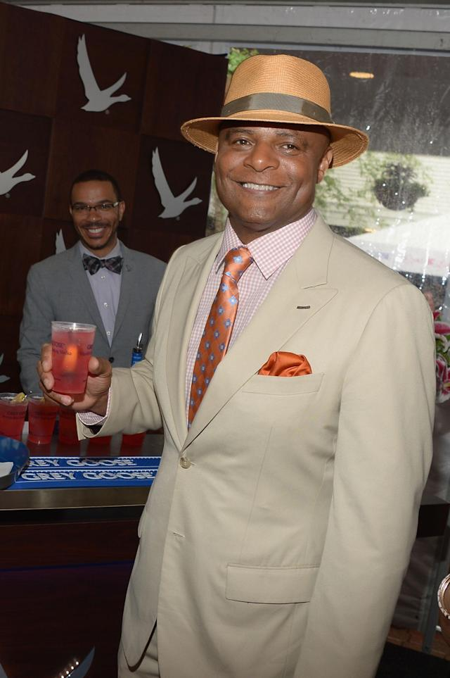 LOUISVILLE, KY - MAY 04: Warren Moon at the GREY GOOSE Red Carpet Lounge at the Kentucky Derby at Churchill Downs on May 4, 2013 in Louisville, Kentucky. (Photo by Theo Wargo/Getty Images for GREY GOOSE)