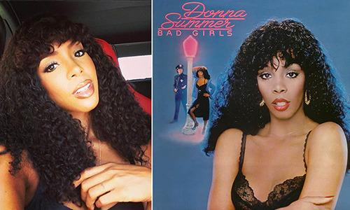"""<p>Kelly Rowland would be the first to admit that she looks a lot like disco queen Donna Summer. The Destiny's Child star recently posted a photo of herself on Instagram with curly hair and makeup with the caption, """"#tbt #DonnaSummer-ish #LovetoLoveYa."""" Rumour has it that Rowland's vying for the role of Summer in an upcoming Spike Lee-directed biopic about Neil Bogart, the record label executive who helped launch Summer's career, and she's dropping some not-so-subtle hints.</p>"""