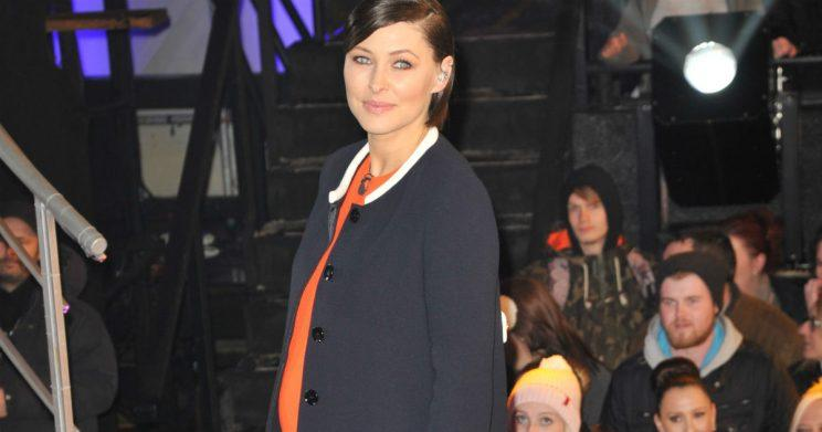 Emma Willis welcomed baby number 3 into the world with hubby Matt Willis in May and called her Trixie Grace. (Photo: WENN)