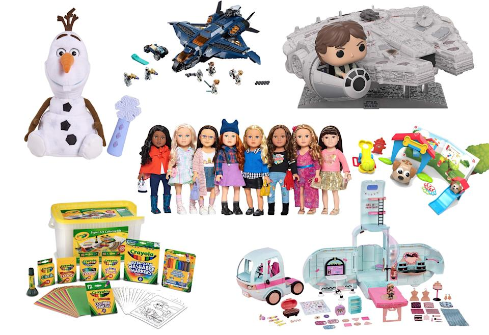 Amazon's list of top 100 toys includes everything from Legos to L.O.L dolls. (Photo: Amazon)