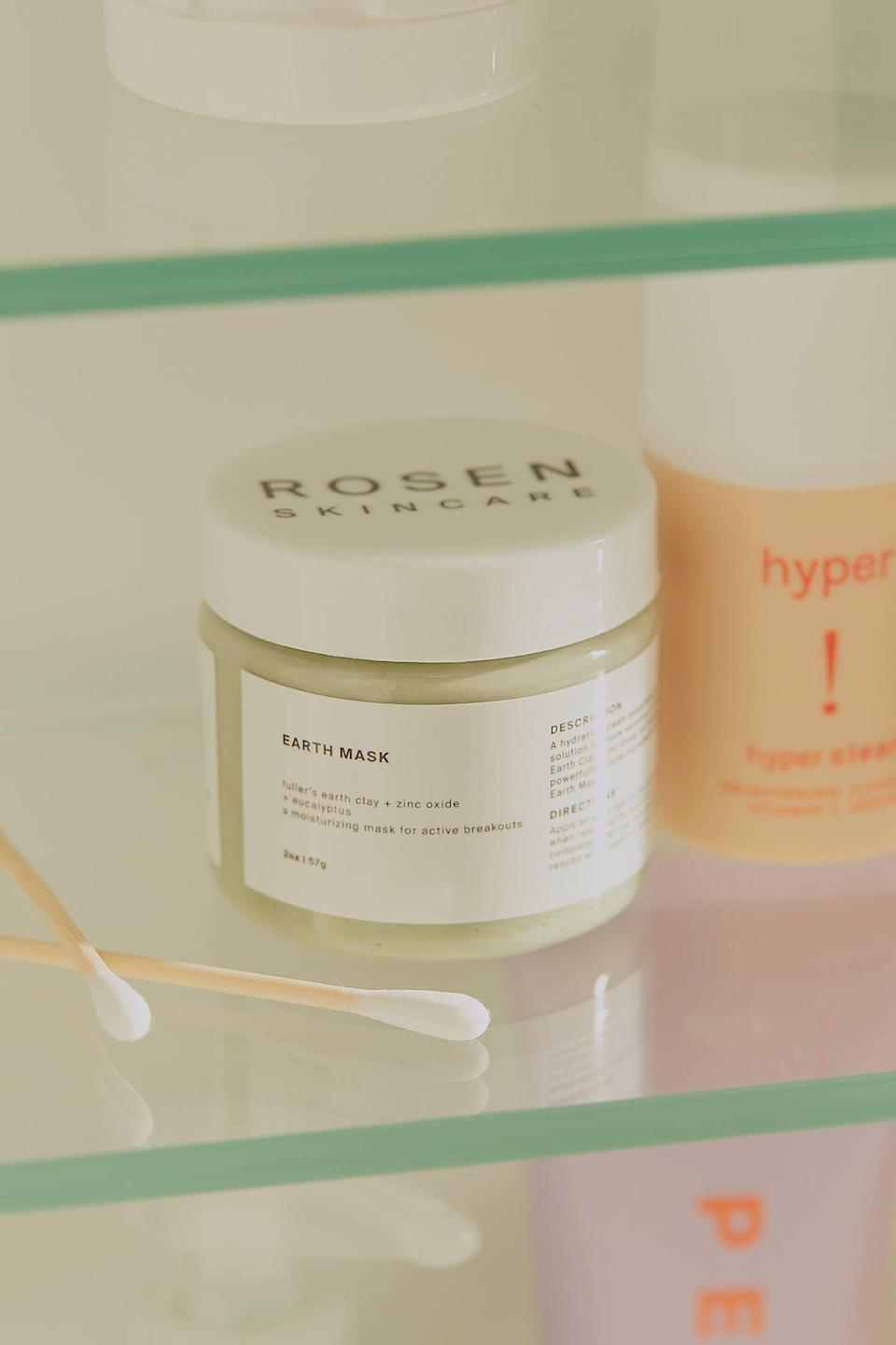 """<p><strong>ROSEN Skincare</strong></p><p>urbanoutfitters.com</p><p><strong>$18.00</strong></p><p><a href=""""https://go.redirectingat.com?id=74968X1596630&url=https%3A%2F%2Fwww.urbanoutfitters.com%2Fshop%2Frosen-skincare-earth-cream-mask&sref=https%3A%2F%2Fwww.seventeen.com%2Flife%2Fg23515577%2Fcool-gifts-for-teen-boys%2F"""" rel=""""nofollow noopener"""" target=""""_blank"""" data-ylk=""""slk:Shop Now"""" class=""""link rapid-noclick-resp"""">Shop Now</a></p><p>Wow, this mask just <a href=""""https://www.seventeen.com/beauty/makeup-skincare/g25412945/face-mask-for-acne/"""" rel=""""nofollow noopener"""" target=""""_blank"""" data-ylk=""""slk:cleared his skin"""" class=""""link rapid-noclick-resp"""">cleared his skin</a> and boosted his confidence. </p>"""