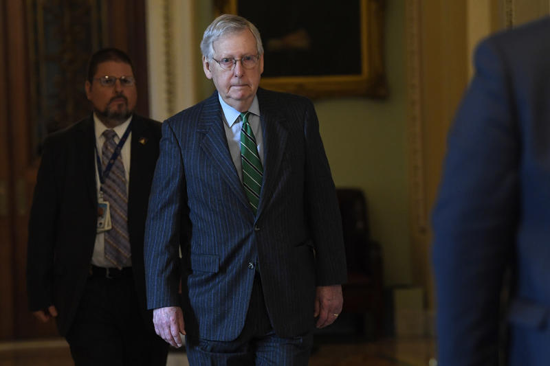 McConnell to drop new stimulus plan as some in GOP balk at cash payments