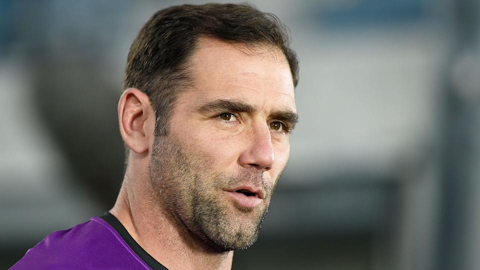 Pictured here, Storm captain Cam Smith is a reported target of the Broncos.