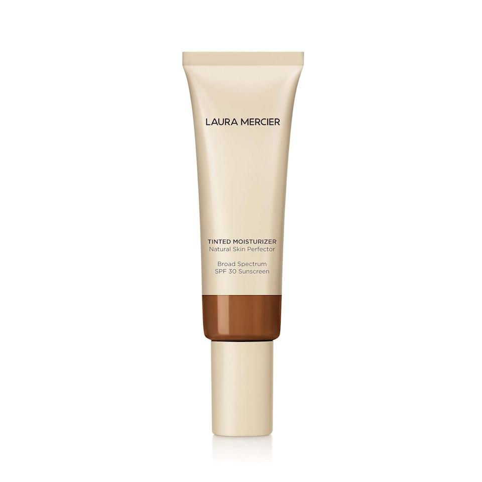 """<p>For years, Laura Mercier's Tinted Moisturizer has been one of the most beloved in the beauty biz. And then, in 2019, it somehow <a href=""""https://www.allure.com/story/laura-mercier-tinted-moisturizer-reformulated-review?mbid=synd_yahoo_rss"""" rel=""""nofollow noopener"""" target=""""_blank"""" data-ylk=""""slk:got even better"""" class=""""link rapid-noclick-resp"""">got even better</a>. In addition to expanding the shade range, the brand increased both hydration and sun protection, adding more moisturizing oils and revving up the SPF 20 to SPF 30.</p> <p><strong>$47</strong> (<a href=""""https://shop-links.co/1698700043409466946"""" rel=""""nofollow noopener"""" target=""""_blank"""" data-ylk=""""slk:Shop Now"""" class=""""link rapid-noclick-resp"""">Shop Now</a>)</p>"""