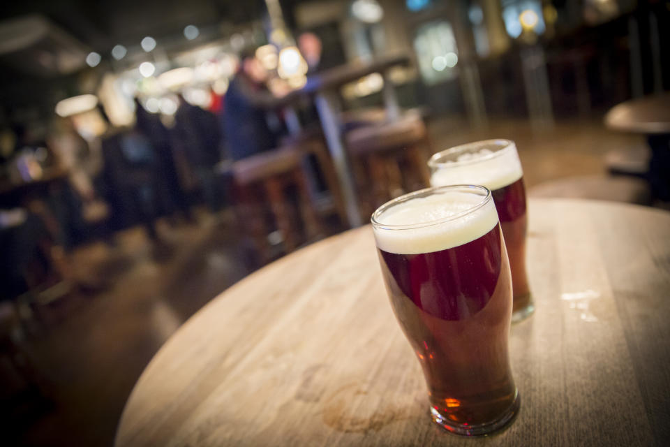 The pub chain said in January it had £125m of cash with an ongoing monthly cash burn of approximately £35m to £40m, and a further £50m of debt service due on 15 March. Photo: Getty Images