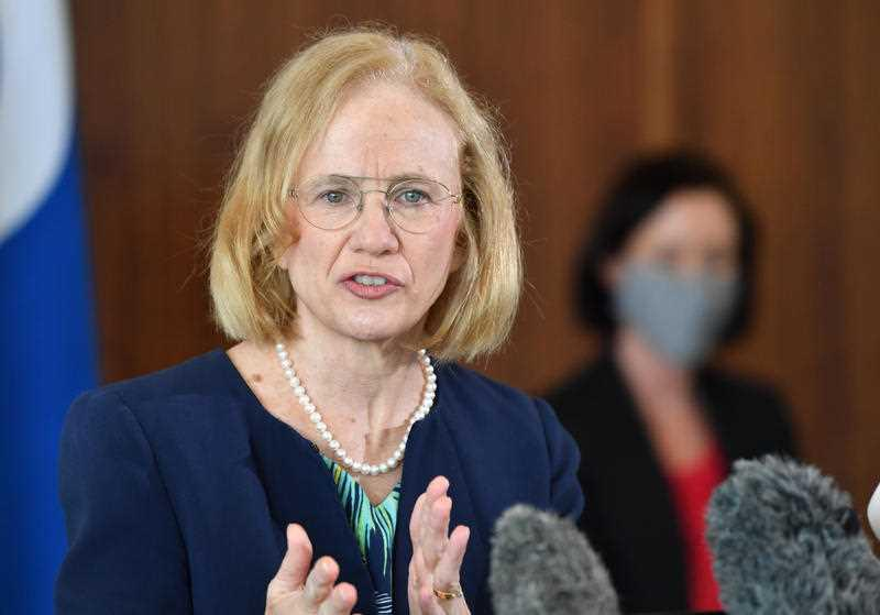 Queensland Chief Health Officer Dr Jeannette Young said genomic sequencing connected the man's infection to that of a Brisbane doctor
