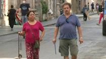 Italians walk without masks in Rome