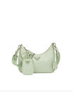 """<p><strong>Prada</strong></p><p>prada.com</p><p><strong>$1390.00</strong></p><p><a href=""""https://www.prada.com/us/en/women/bags/shoulder_bags/products.prada_re-edition_2005_re-nylon_bag.1BH204_R064_F0934_V_V1L.html"""" rel=""""nofollow noopener"""" target=""""_blank"""" data-ylk=""""slk:Shop Now"""" class=""""link rapid-noclick-resp"""">Shop Now</a></p><p>Mint and aqua seem to be the greens of the season. This Prada bag blends the trendy color with an ultra Y2K style. </p>"""