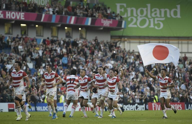 The plucky Japanese won three matches two years ago under current England coach Eddie Jones, including an astonishing 34-32 victory over two-time world champions South Africa, but failed to reach the knockout stage