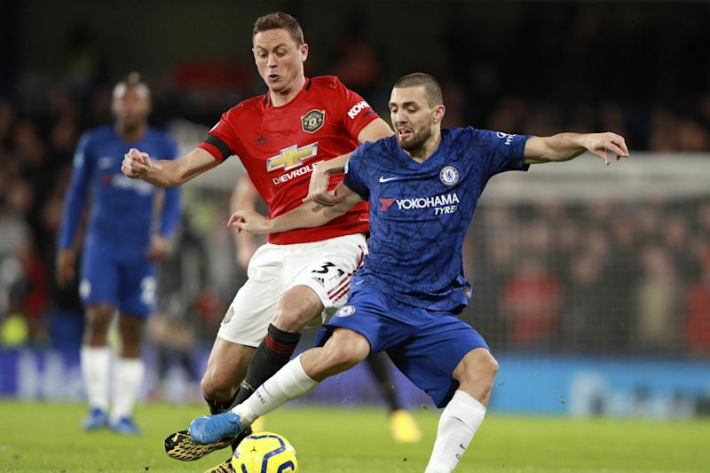 Same old story | Mateo Kovacic knows Chelsea were haunted by familiar problems against Manchester United (AP)