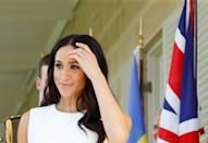 """<p>In an interview with <em><a href=""""http://www.harpersbazaar.com/uk/beauty/mind-body/a14378445/meghan-markle-megaformer-pilates/"""" rel=""""nofollow noopener"""" target=""""_blank"""" data-ylk=""""slk:Harper's Bazaar"""" class=""""link rapid-noclick-resp"""">Harper's Bazaar</a></em>, Markle shared her love for the Megaformer, a machine created by workout guru Sebastien Lagree, founder of the Lagree Method. """"[It] is hands-down the best thing you could do for your body,"""" Markle said. """"Your body changes immediately. Give it two classes, and you will see a difference.""""</p>"""