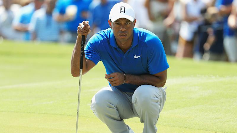 Webb Simpson wins Players championship by four strokes, Tiger Woods ends 11th
