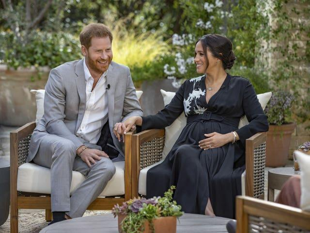 Harry and Meghan talked candidly during their interview