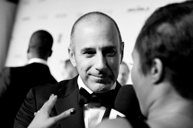Matt Lauer Photographer: Larry Busacca/Getty Images