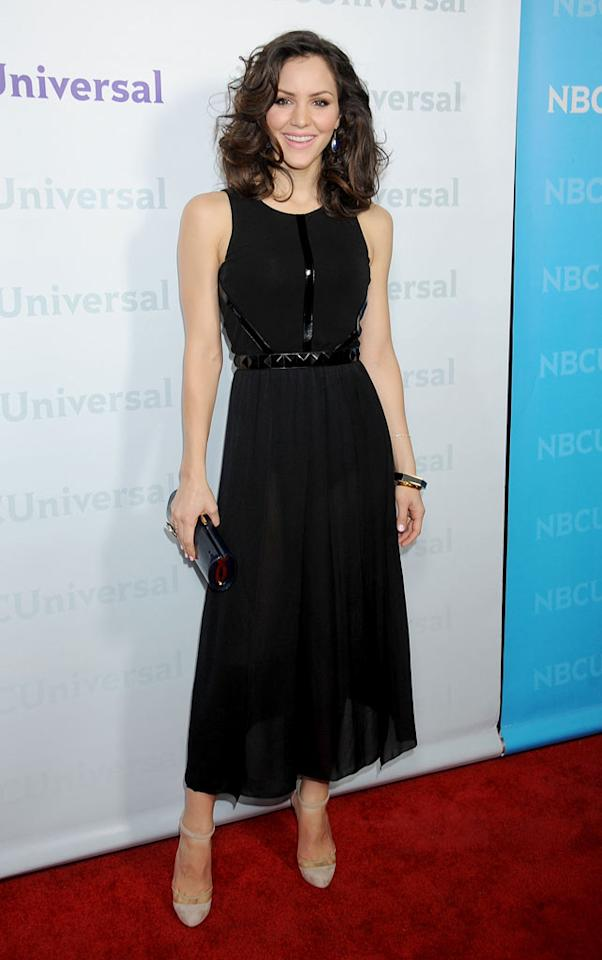 """<a href=""""/katharine-mcphee/contributor/2208129"""">Katharine McPhee</a> (""""<a href=""""/smash/show/47403"""">Smash</a>"""") attends the 2012 NBC Universal Winter TCA All-Star Party at The Athenaeum on January 6, 2012 in Pasadena, California."""