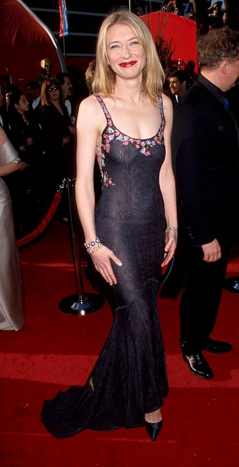 Photo by: Kevin Mazur/WireImage<br />Cate in Galliano-<br />This was the first Cate Blanchett red carpet look that told me she'd be a style icon. This photo was taken over 10 years ago and everything about her look is still relevant -- her hair and make-up are flawless and beautiful, and her dress is super-flattering and classic. These are the makings of a superstar.