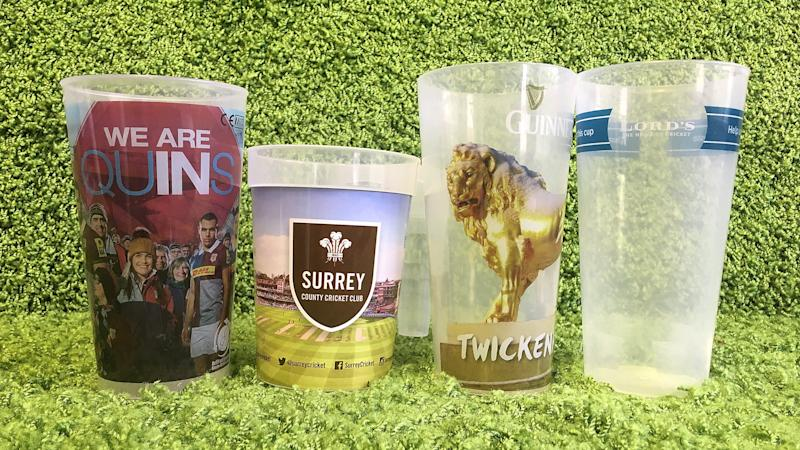 Up for the cup? Football clubs urged to move to returnable drinks containers