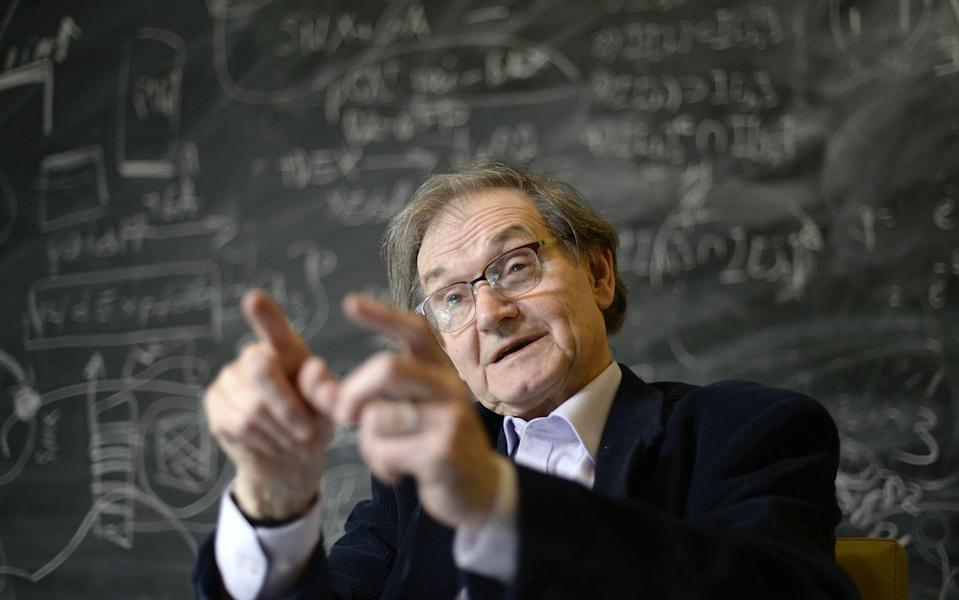 Oxford's Roger Penrose has won the Nobel prize - APA Picturedesk Gmbh/Shutterstock