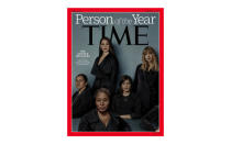 <p>In 2017, Time magazine gave it's Person of the Year to the 'silence breakers – five women who represent the thousands of people across the globe who spoke out about their experiences of sexual harassment and assault. <em>[Photo: Time]</em> </p>
