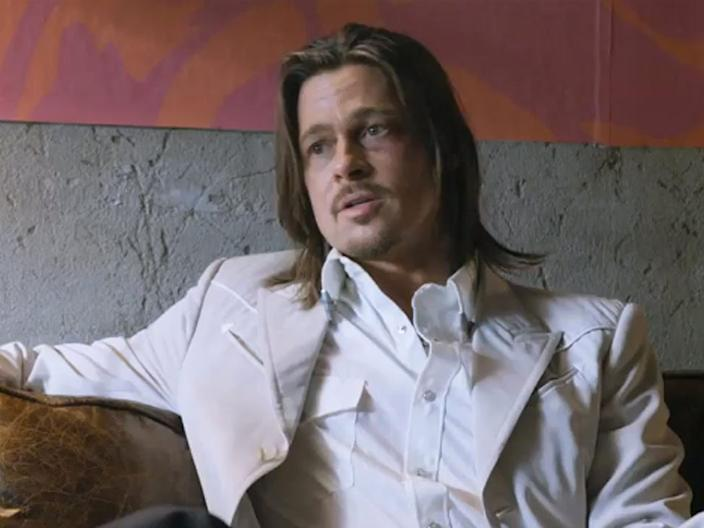 brad pitt the counselor
