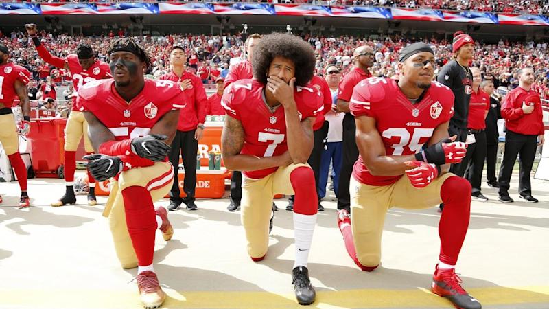 (FILE) USA AMERICAN FOOTBALL NFL PROTESTS