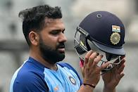 Rohit Sharma is looking for a sixth IPL crown with Mumbai, and is tipped to take over the India T20 captaincy from Kohli (AFP/Punit PARANJPE)