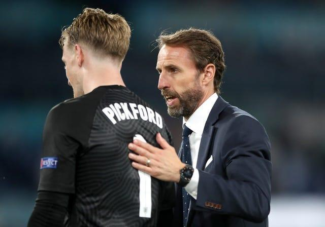England manager Gareth Southgate has always backed Pickford's ability.