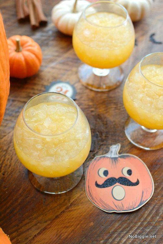 """<p>Dazzle party guests with this sparkling pumpkin spice punch. Try serving this one in a hallowed pumpkin for a festive look!</p><p><strong>Get the recipe at <a href=""""https://www.nobiggie.net/sparkling-pumpkin-spice-punch/"""" rel=""""nofollow noopener"""" target=""""_blank"""" data-ylk=""""slk:No Biggie"""" class=""""link rapid-noclick-resp"""">No Biggie</a>. </strong></p><p><a class=""""link rapid-noclick-resp"""" href=""""https://www.amazon.com/Hinxin3Pack160-Grid-Mini-Silicone-Cube/dp/B07RX1H394/?tag=syn-yahoo-20&ascsubtag=%5Bartid%7C2164.g.36792938%5Bsrc%7Cyahoo-us"""" rel=""""nofollow noopener"""" target=""""_blank"""" data-ylk=""""slk:SHOP MINI ICE CUBE TRAYS"""">SHOP MINI ICE CUBE TRAYS</a></p>"""