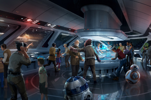 Star Wars fans can live out adventures inspired by the films: Disney