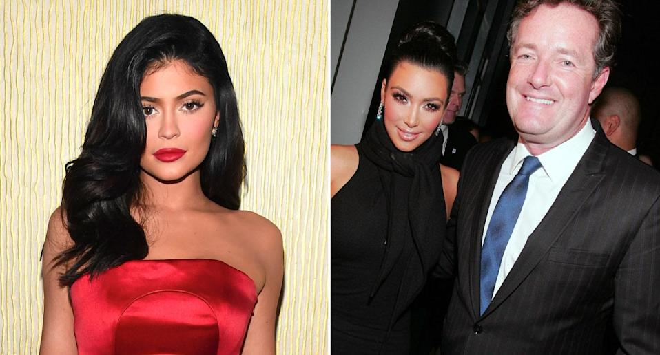 Piers Morgan has claimed that Kylie Jenner's billionaire status is down to Kim Kardashian's sex tape (Getty)
