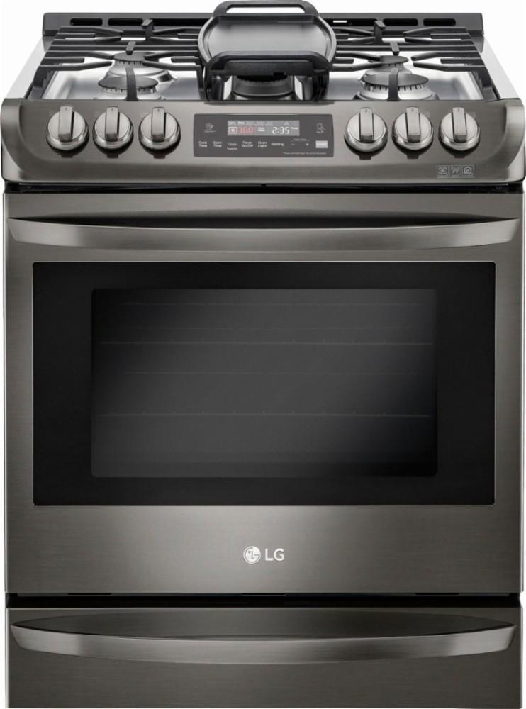 LG 6.3-cubic-foot self-cleaning slide-in gas convection range. (Photo: LG)