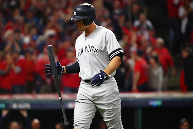 Can Yankees Beat Indians in ALDS Game 2 Without Aaron Judge?