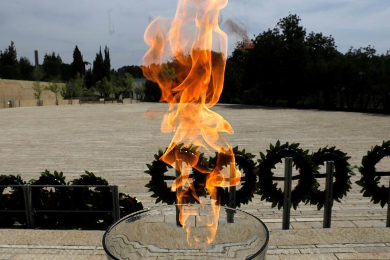 A flame burning in memory of the victims of the Holocaust at Yad Vashem, pictured on Holocaust Remembrance Day earlier this year