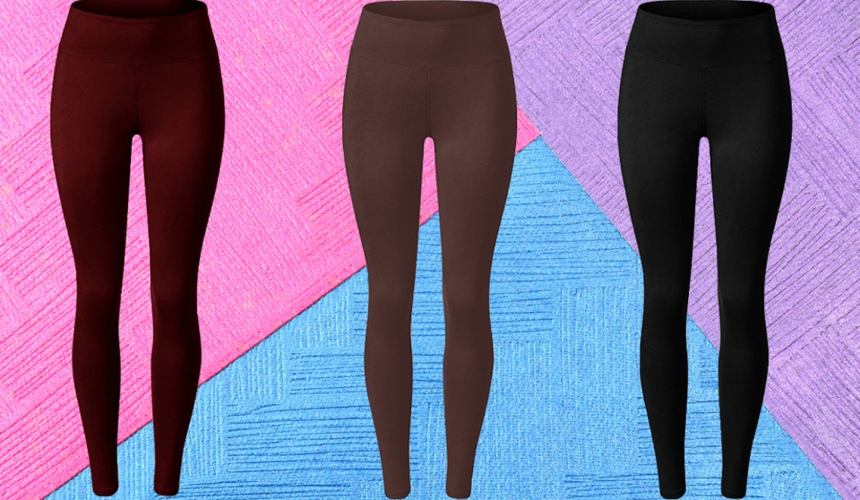 These luscious leggings come in a ton of colors, and are available in capri or full length. (Photo: Amazon)