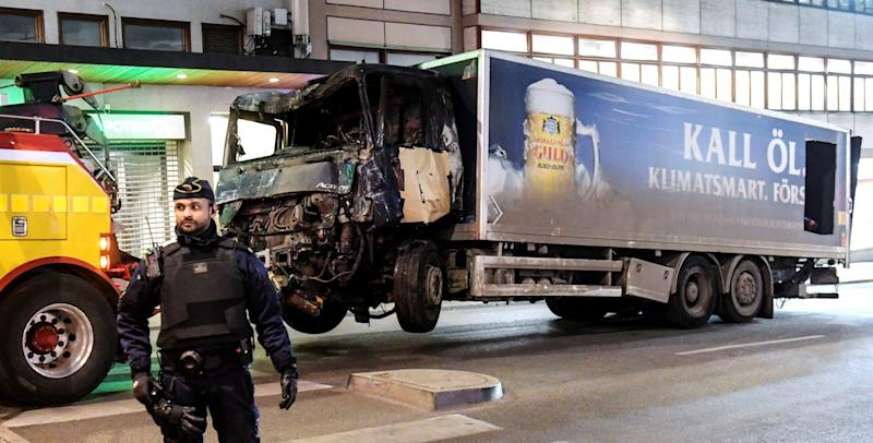 Stockholm attack truck