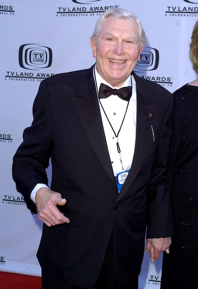 Andy Griffith at the The Hollywood Palladium in Hollywood, CA (Photo by Steve Granitz/WireImage)